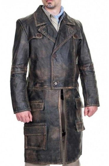 Defiance Joshua Nolan Leather Coat